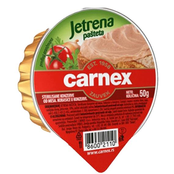 Jetrena pašteta Carnex 50g