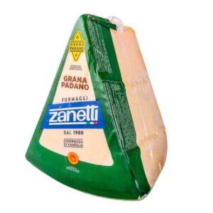 Parmezan Zanetti Grana Padano 32%mm 2kg