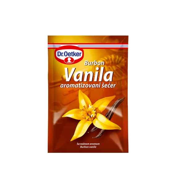 Vanila aromatizovan šećer Burbon 10gr