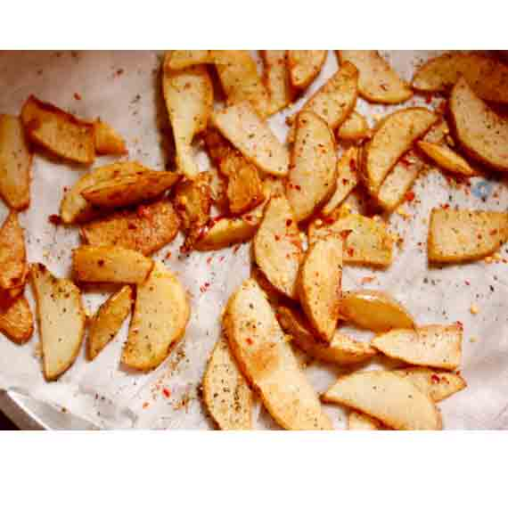 Začinjene kriške krompira 2.5kg - smrznuto