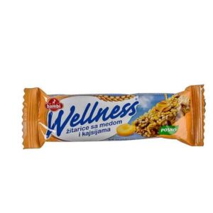 Bambi wellness žitarice sa medom i kajsijom 23g