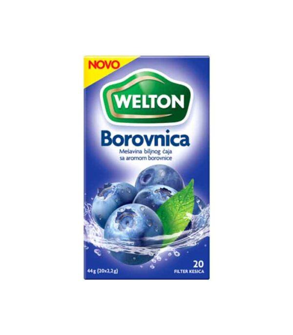 Borovnica voćni čaj 44gr - Welton