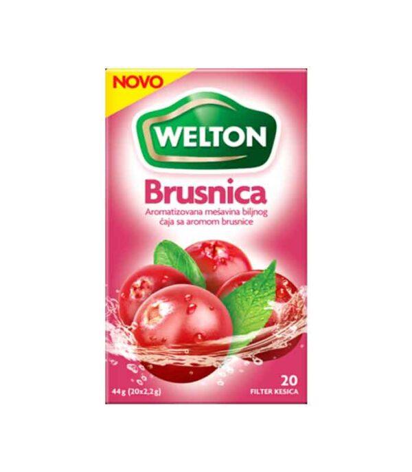 Brusnica voćni čaj 44gr - Welton