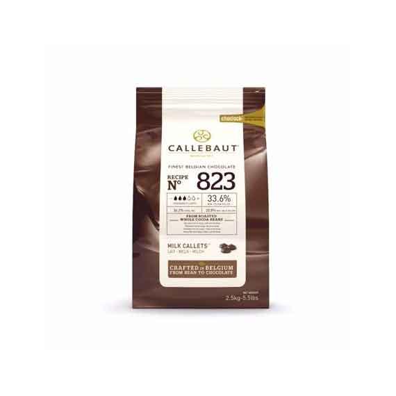 Čokolada Callebaut belgijska mlečna