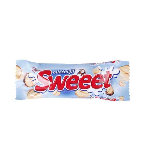 Čokoladni mini bar SWEET milky 38g