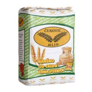Integralno brašno celog zrna pšenice 1kg Čeković mlin