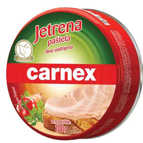 Jetrena pašteta Carnex 100gr