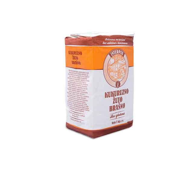 Kukuruzno žuto brašno 1kg Interpak