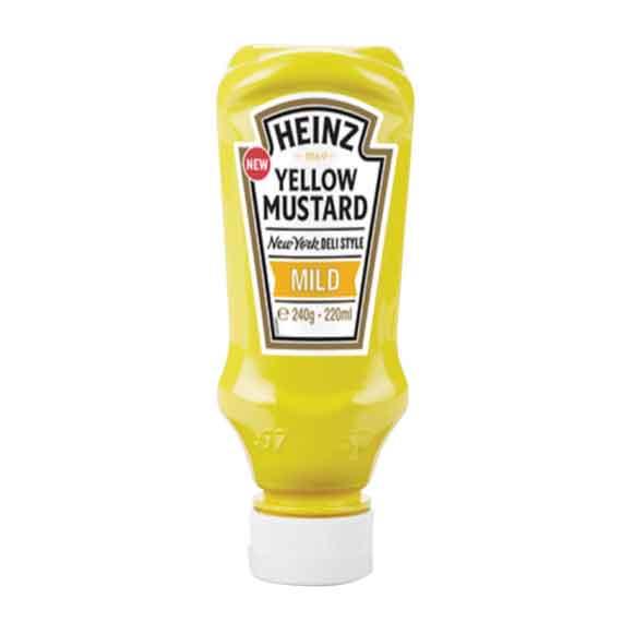 Senf mild Heinz 240g