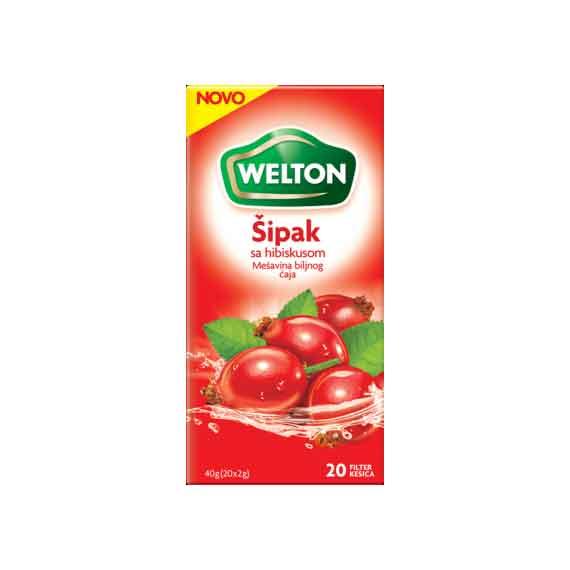 Šipak čaj 40gr - Welton