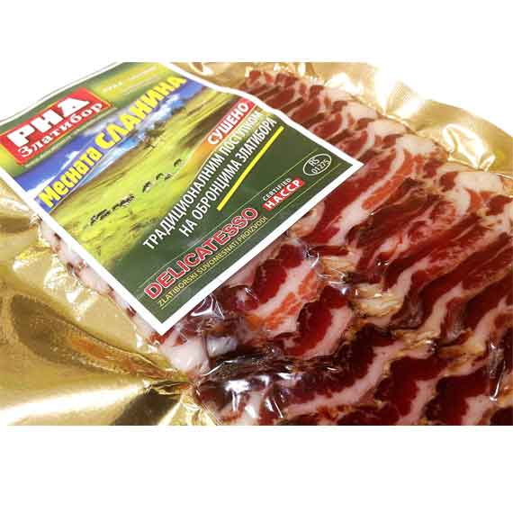 Zlatiborska slanina listići 250gr