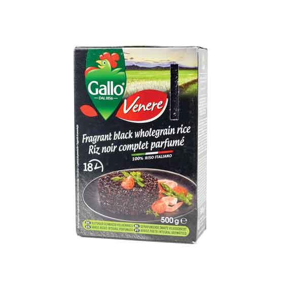 Pirinač crni 500 gr RISO GALLO