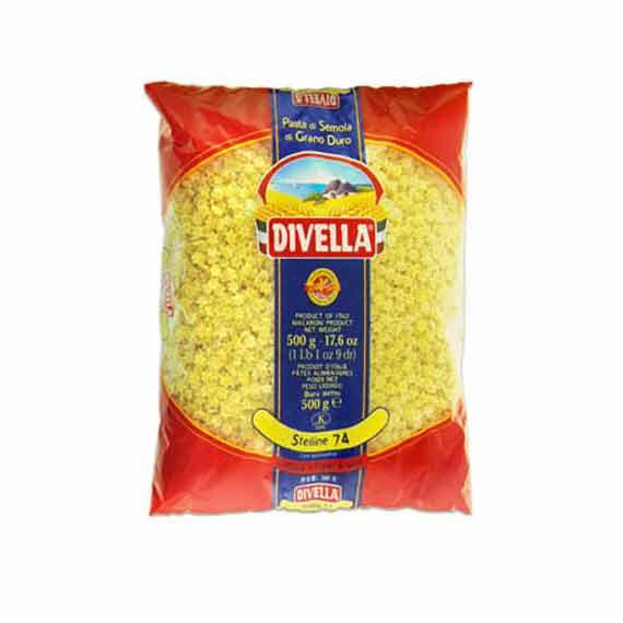 Divella Stelline zvezdice 500gr